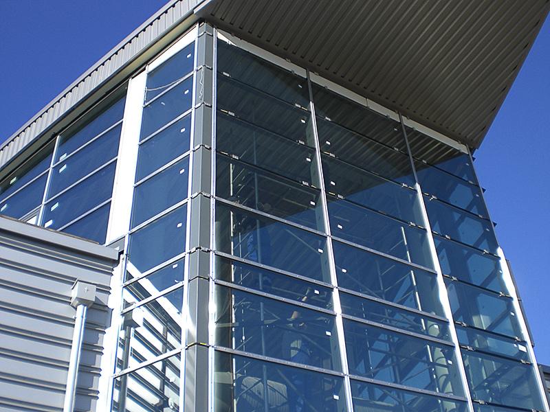 Metallbau Hollax Flughafen Köln-Bonn Fassade