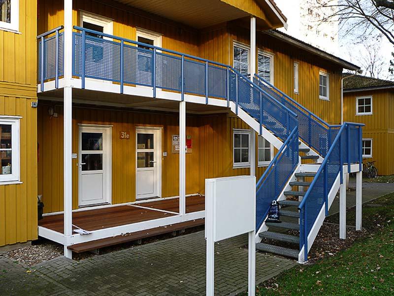 Treppe Geländer und Brüstung aus Metall